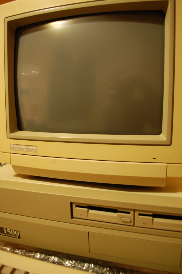 Amiga A1500 and monitor