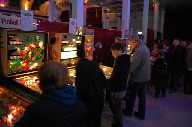 freeplay pinball at geek