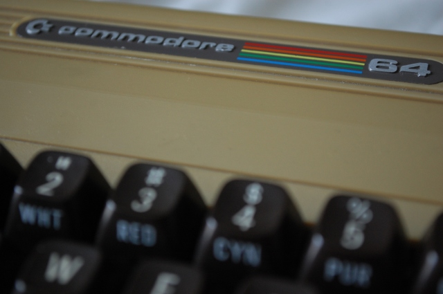 commodore 64 logo breadbin 23022014
