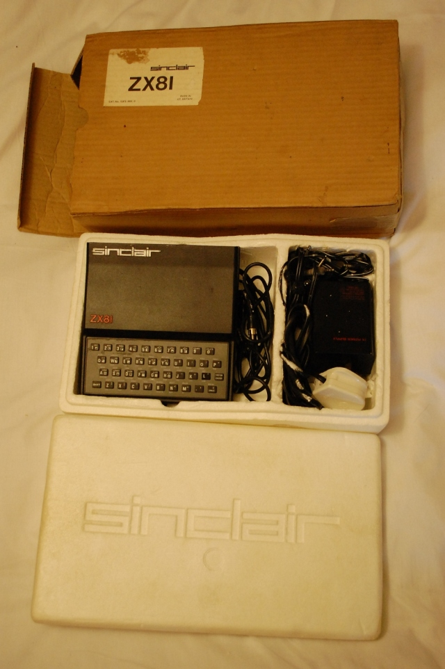 ZX81 in original post box 2012014