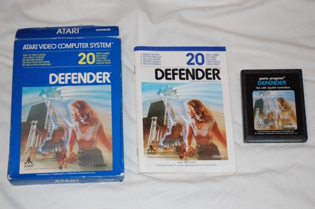 Defender Atari 2600 CIBSunday 23032014